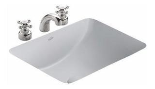Bacha Baño Ferrum Cadria Bajo Mesada 51.5 X 37 X 20.5 Lnsf Blanca Porcelana Sanitaria