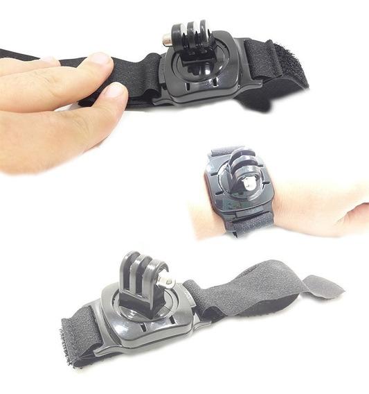 Suporte Gopro Go Camera Punho Pulso Rot 360 Pro Hero 2 3 3+