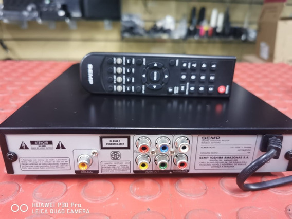 Dvd Semp Sd4070 U Com Usb Perfeito Progressive Scan