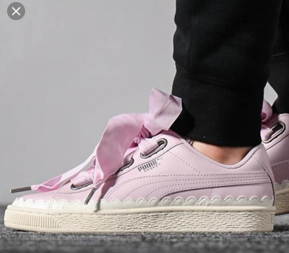Zapatillas Puma Basket Heart Scallop Wn´s Envio Gratis