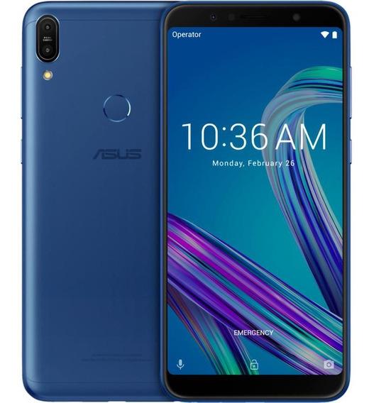 Smartphone Asus Zenfone Max Pro M1 3gb/32gb Azul - Zb602kl