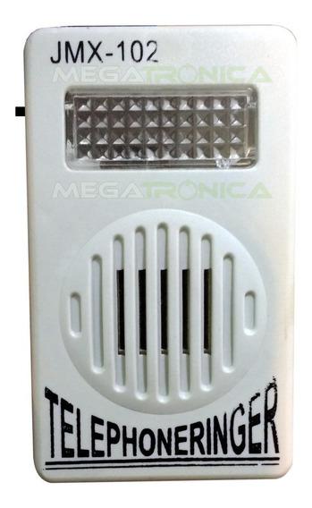 Campanilla Auxiliar Telefonica C/luz Y Sonido Gran Volumen
