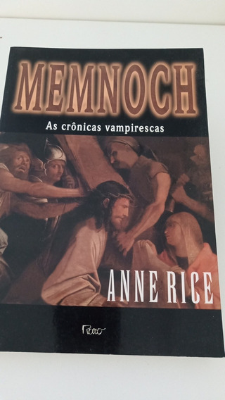Livro Memnock As Crônicas Vampirescas - Anne Rice