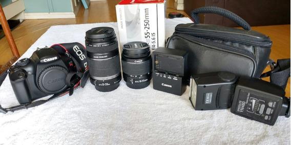 Kit Canon T3i Rebel / 18-55 / 50-250