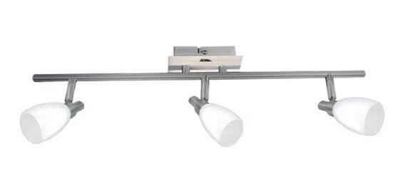 Luminario Riel Decorativo Perth 3 Focos Ad-5505 G-9 Adir