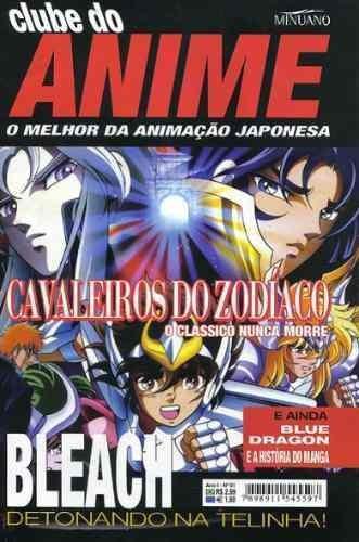 Hq-manga-clube Do Anime:numero 01-bleach,blue Dragon,naruto