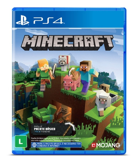 Minecraft Starter Collection Ps4 Mídia Física Português