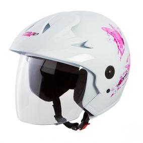 Capacete Moto Feminino Atomic For Girls Protork Tam 56 58 60