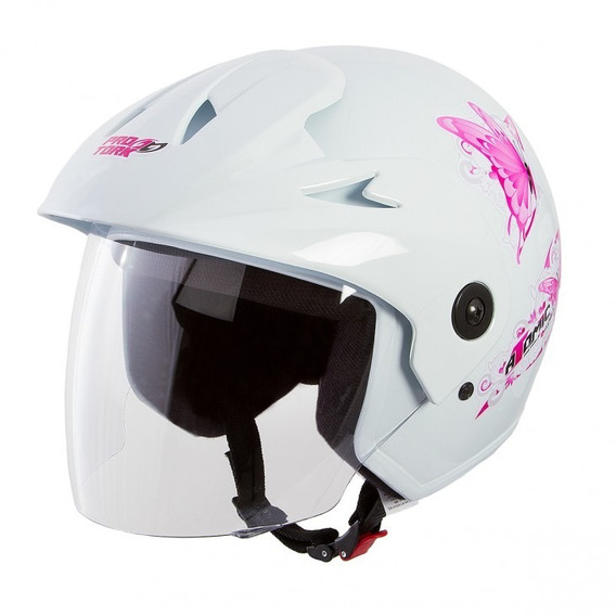 Capacete Moto Feminino Atomic For Girls Protork Tam 56 58 60