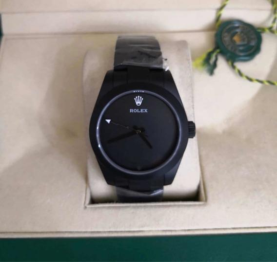 Relógio Masculino Pvd Preto