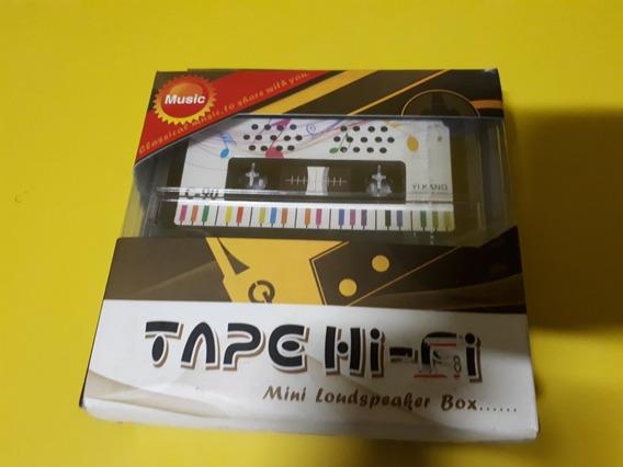 Tape Hi-fi Mini Loudspeaker Box Caixa De Som Cassete K7 K-7