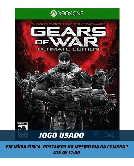 Jogo Gears Of War Ultimate Xbox One Mídia Física Usado