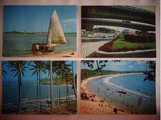 Cartão Postal Natal Rio Grande Do Norte Lote 4 Unidades