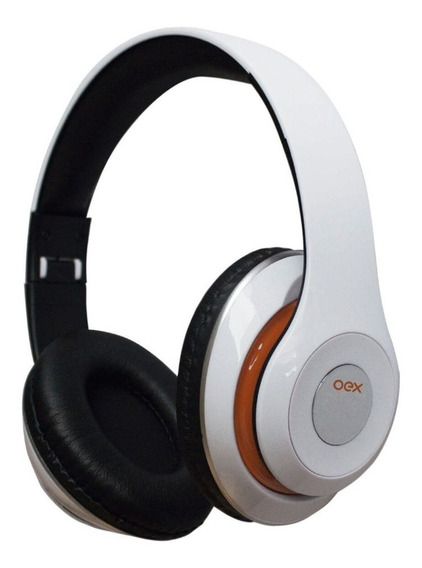Fone De Ouvido Oex Headset Balance Bluetooth Hs301 Branco
