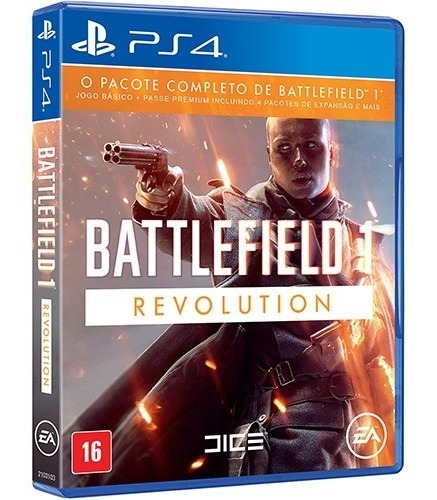 Battlefield 1 Revolution Ps4 Mídia Física Novo Original