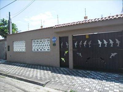 Casa Residencial À Venda, Itaóca, Mongaguá - Ca4053. - Ca4053