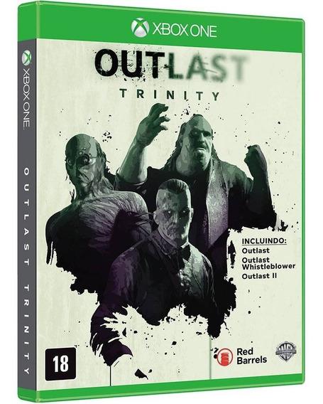 Jogo Outlast - Trinity (novo) Xbox One