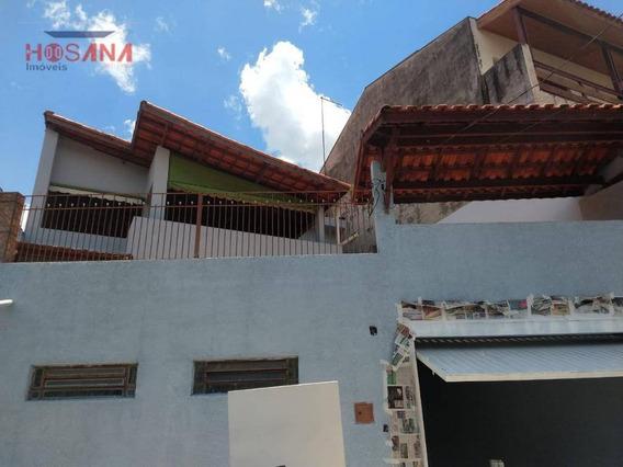 Casa Com 2 Dormitórios À Venda, 350 M² Por R$ 430.000 - Companhia Fazenda Belém - Franco Da Rocha/sp - Ca0678