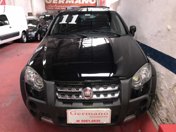Fiat Palio Adventure 1.8 16v Locker Flex Preto 2011/2011