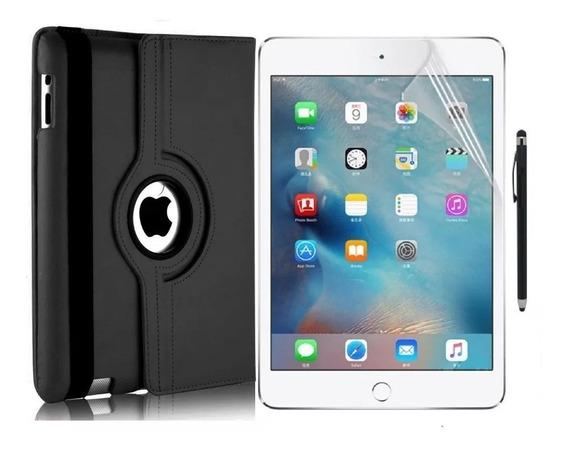 Capa + Película Protetora + Caneta Para iPad Mini 1, 2 E 3