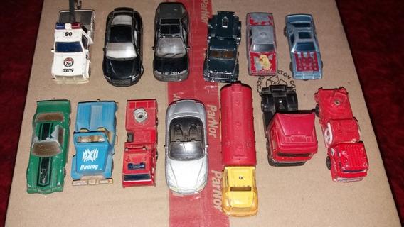 Lote X 13 Autitos Camioncitos (algunos Welly)