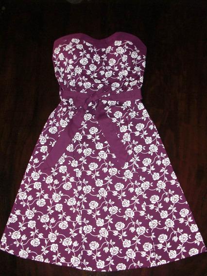 Vestido Strapless Talla M