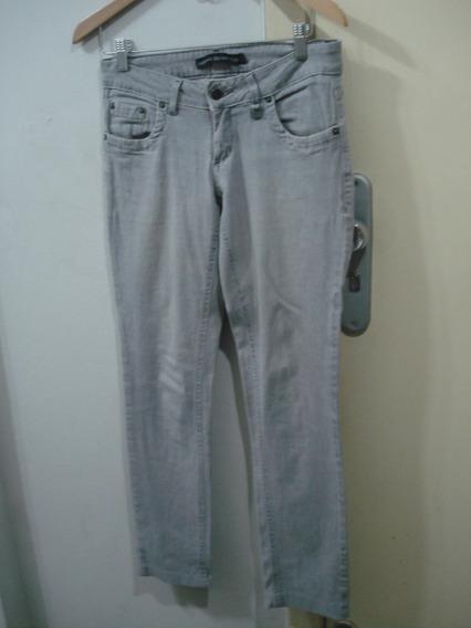Calça Jeans Siberian Claro 38 Skinny Elastano Semi-nova Cut