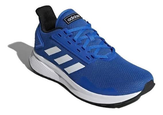 Tênis adidas Duramo 9 Azul Corrida Masculino Original!