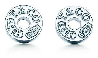 Brinco Tiffany Tiff Circle Prata C/ Embalagem