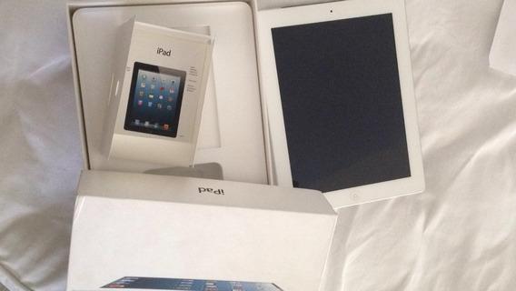 iPad 4, 4g + Wifi. 64gb. Completo