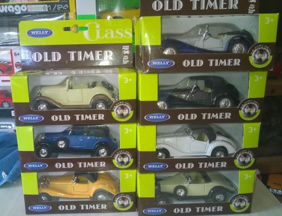 Lote De 7 Autos Old Timer De Welly 1:43