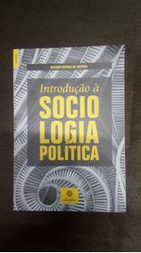Livro Introduçao À Sociolgia Política - Gustavo Lacerda