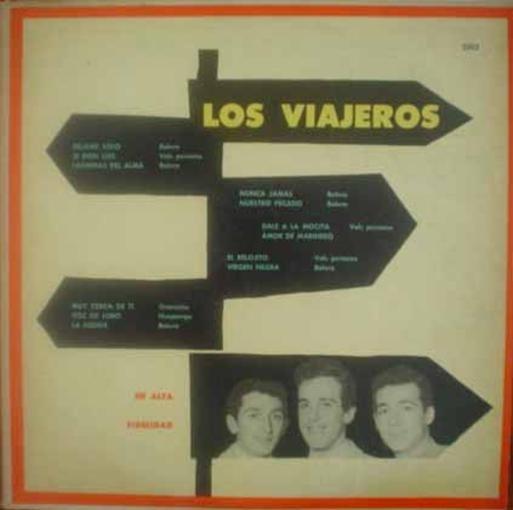 Viajeros 1st Album Lp Vinilo Orig Argenti Boleros Vals Peru