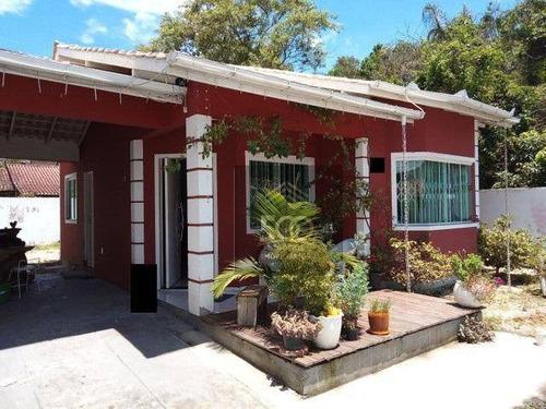 Casa Com 2 Dormitórios À Venda, 90 M² Por R$ 320.000,00 - Potecas - São José/sc - Ca0536