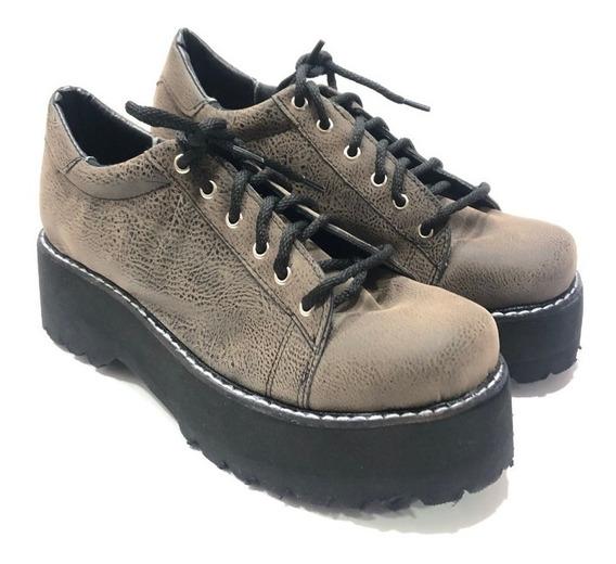 Cata Borcegos Con Cordones Zapatos