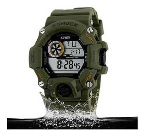 Relógio Masculino G-shock Skmei 1019 Militar Digital