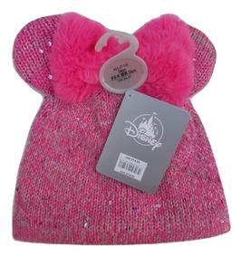 Disney Store Gorro Rosa Minnie Mouse 100% Original