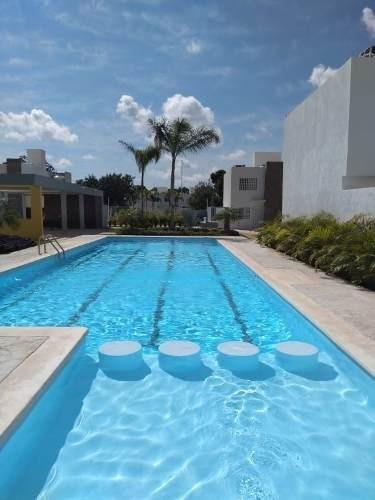 En Renta Casa A Estrenar En Paseo De Los Olivos 2 Rec. Sin Muebles, Playa De Carmen P3116