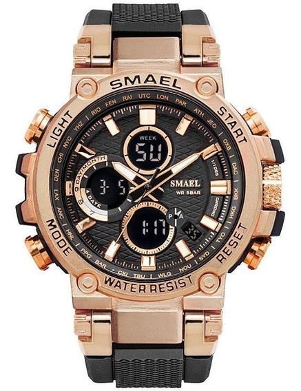 Smael 1803 Dual Display Analógico Digital Sports Watch