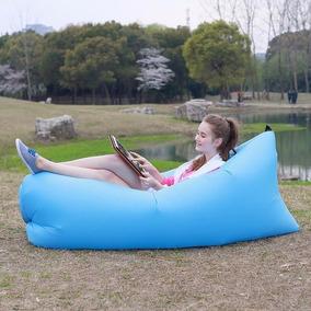Sofa Colchao Inflavel Ar De Dormir Descanso Camping Lay-bag