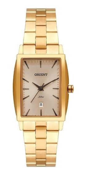 Relógio Orient Feminino Eternal Lgss1015 Analógico Dourado