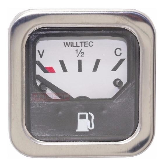 Indicador Combustível Elétrica Marcador Quadrado Fusca Bóia