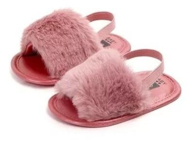 Sandalias Zapato Bebe Pelusa Niña