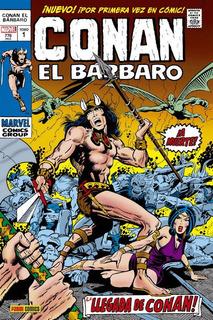 Marvel Gold Omnibus Conan El Barbaro La Llegada De Conan ...