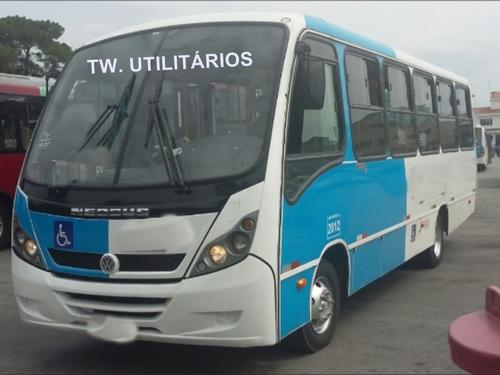 Micro Onibus Thunder + 9.150 Ano 2012 Motor Cummis