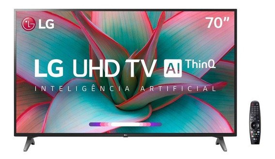Smart Tv Ultra Hd 4k 70 Polegadas LG 3 Hdmi 2 Usb Wi-fi