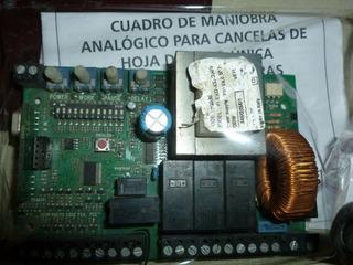 Tablero Motor Batiente Y Arrollable Santa María V2 City 7