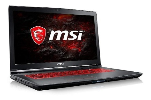 Msi Gv72 17.3 Gaming Laptop Core I7-7700hq, 8gb, Gtx 1050