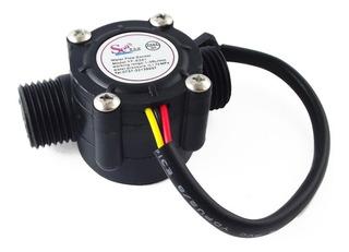 Medidor Sensor Flujo Agua Yf-s201 Caudalímetro Arduino Full