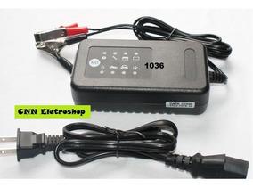 Carregador Inteligente P/ Baterias Veicular 12v, De 2 À 90ah